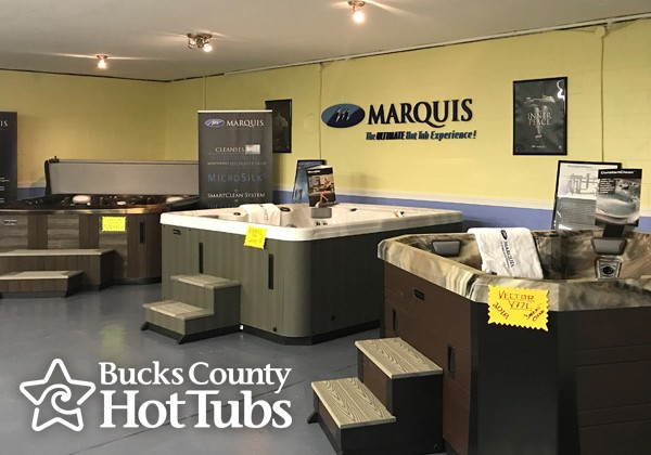 hot tub company showroom