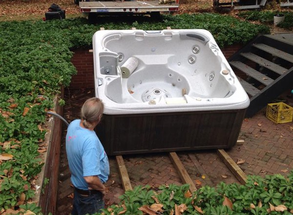 Hot Tub Relocation & Removal with Bucks County Hot Tubs