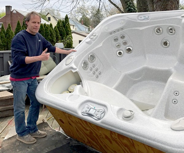 Bucks County Hot Tub Renovation