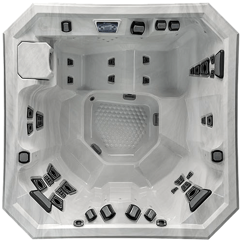 Visit the Bucks County Hot Tub showroom to experience the V77L Hot Tub by Marquis Spas Today!