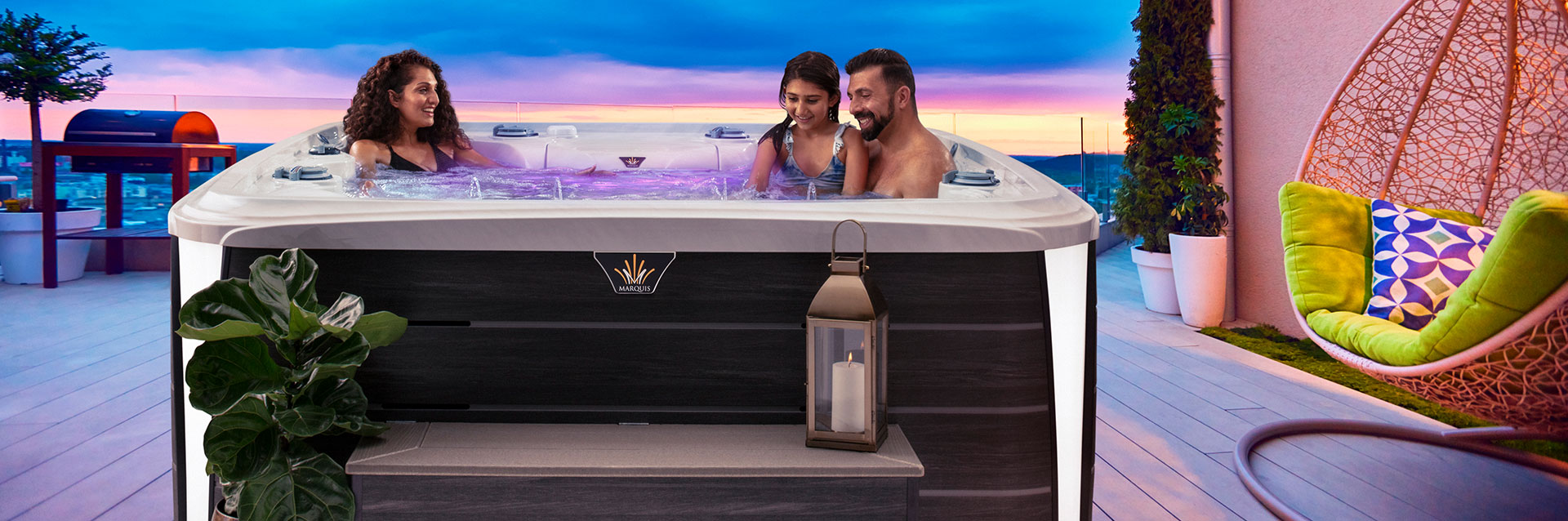 The Crown Epic Hot Tub